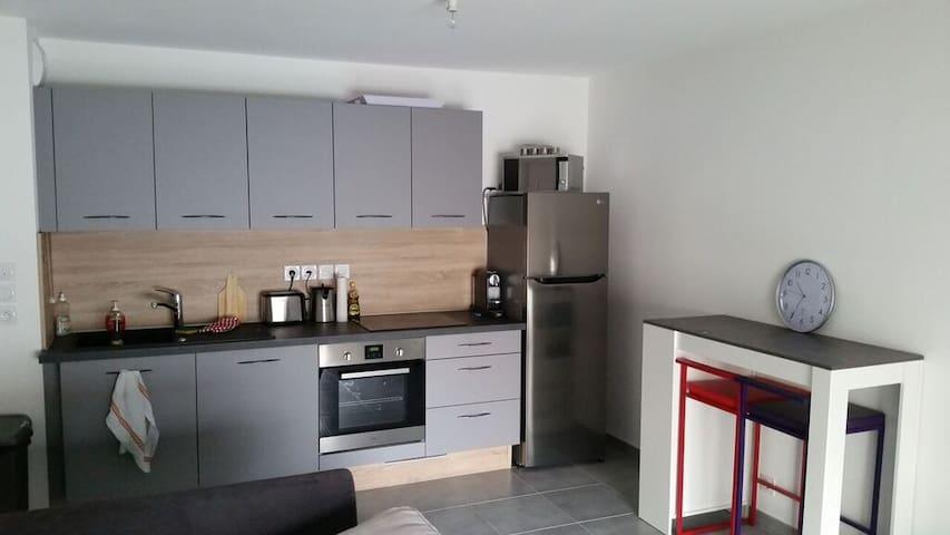 Appartement T2 dans résidence neuve