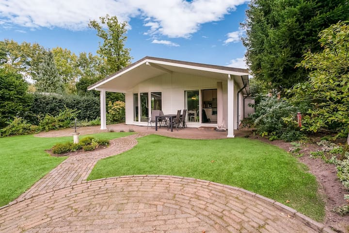 Cozy Chalet in Stegeren with Swimming Pool