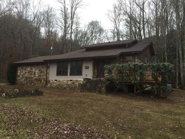 Large Private Home on Wooded Acreage
