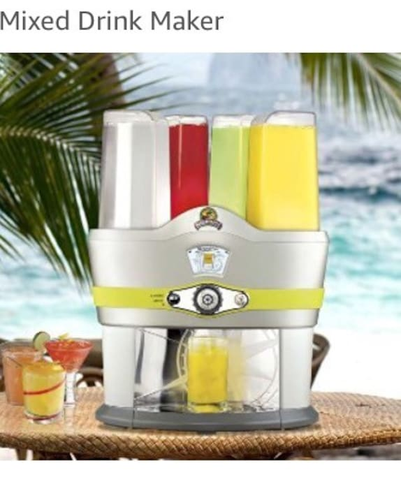 Rent margaritaville for the best self bartender experience.