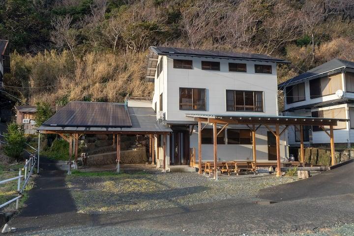 西伊豆・堂ヶ島・浮島海岸 22名用1戸建て