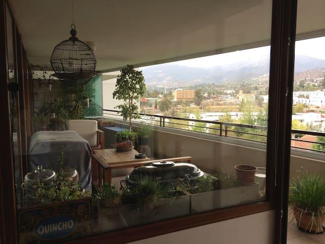Habitacion individual + baño - Lo Barnechea - Wohnung