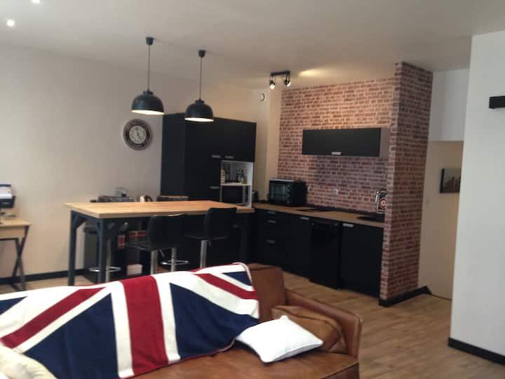 Hyper centre Appartement  cosy avec 2 chambres