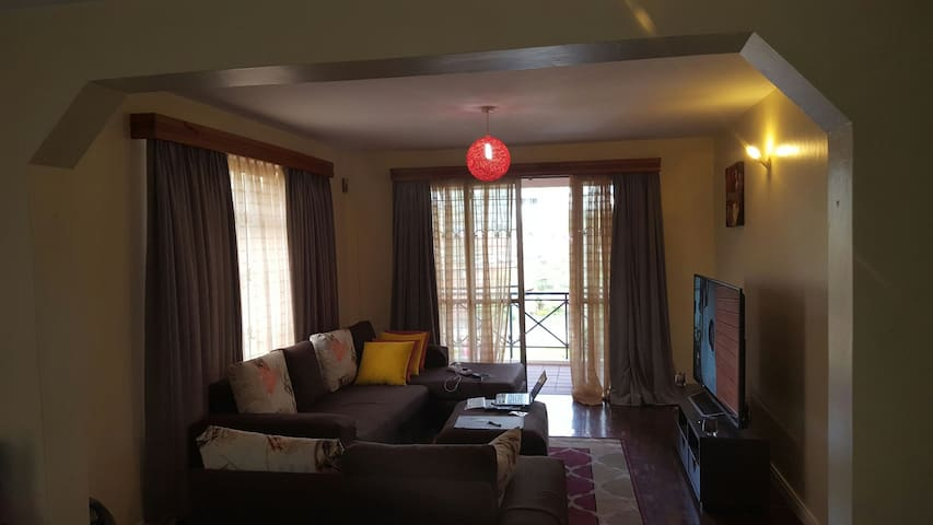 Superb shared apt in kilimani NBO. - Nairobi - Apartament
