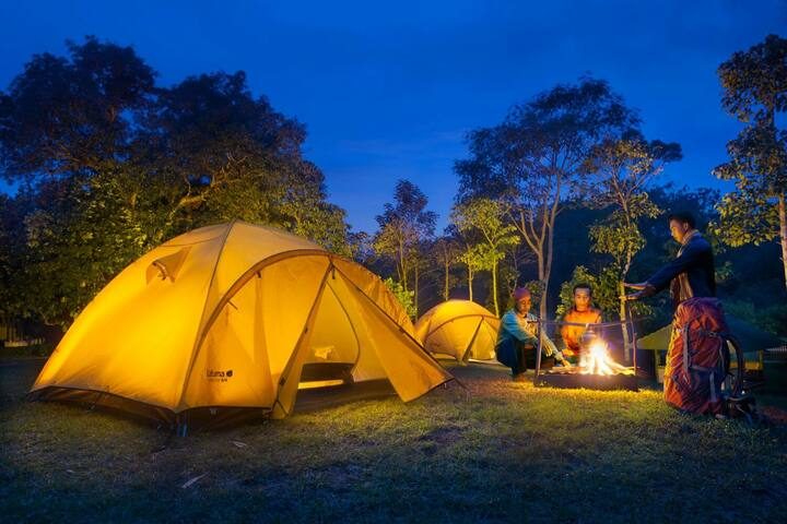 Camping comfortably with Rinjani Garden