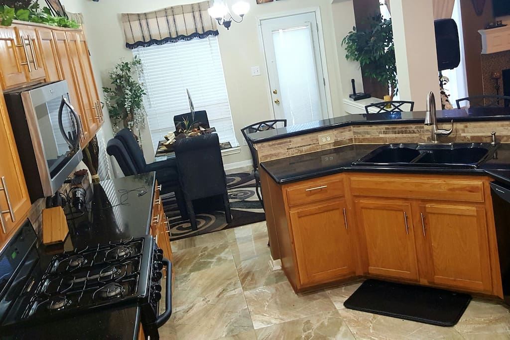 Gas stove and all recent appliances.