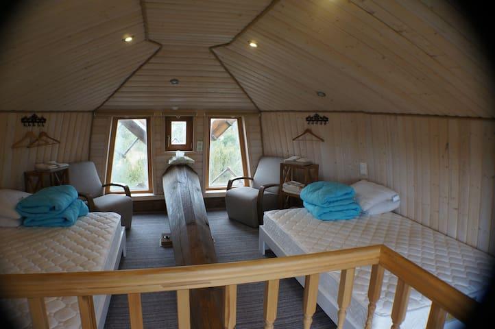 3. floor bedroom with the sea view.