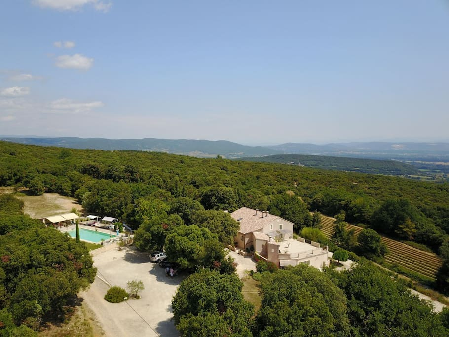 Le mas saint Antoine 2 hectares 100% nature