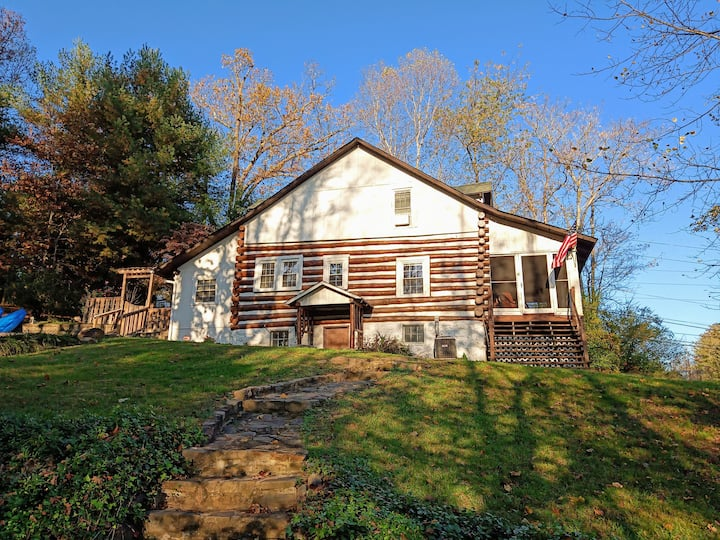 """Thanksgiving Cabin in the Blue Ridge Mountains"""