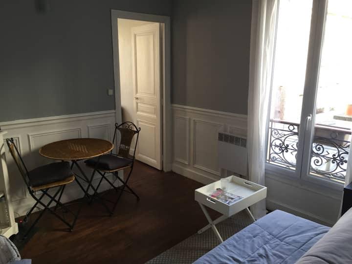 Joli appartement typiquement paris