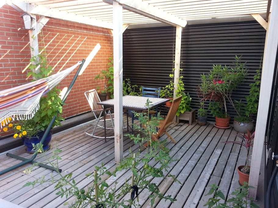 Private Terrace / Terrasse privée