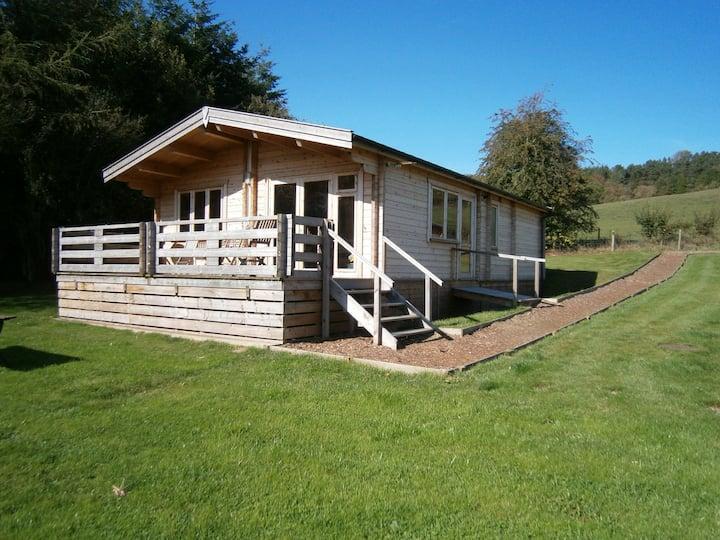 Long Mountain Centre log cabins , Shrewsbury