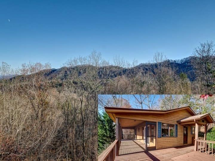 Mountain Retreat with Amazing Views!