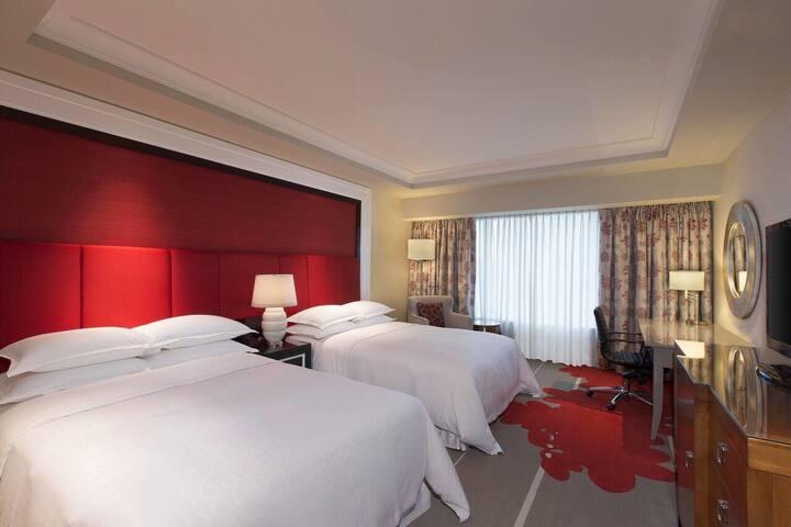 澳门金沙城中心喜来登【受欢迎高性价比】氹仔各大五星酒店 欢迎咨询  豪华大/双床客房