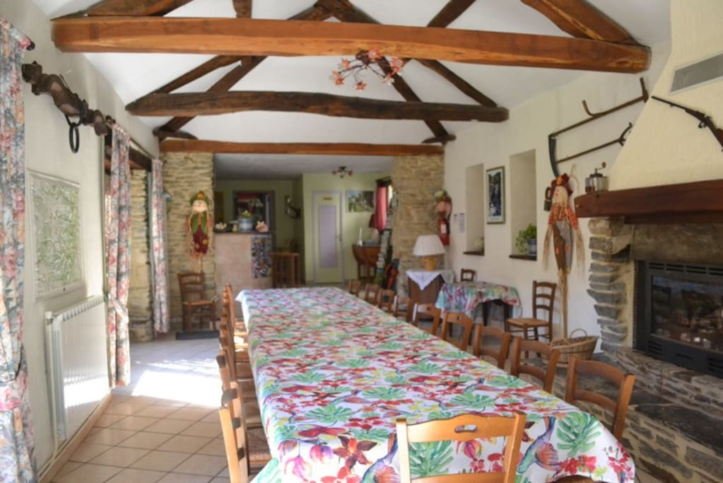 acceuil, salle a manger