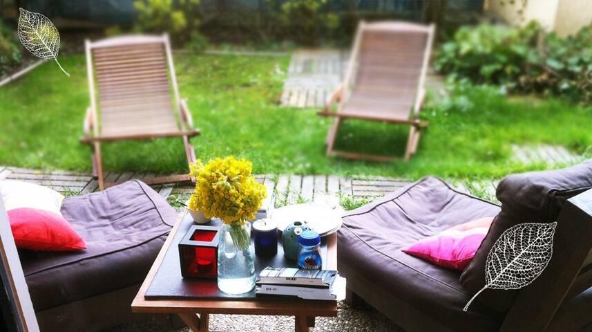 Calme et jardin au lac d'Annecy - Annecy-le-Vieux - Appartement