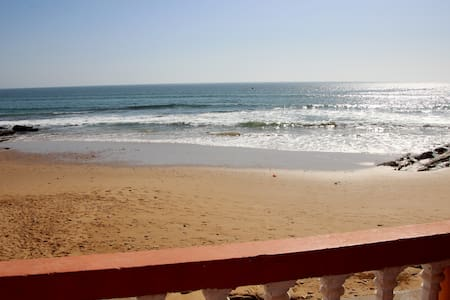 Charming Beach Front Apartment - Taghazout - Apartament