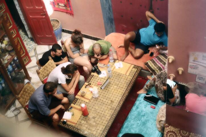 Hostel-9€/persons (URL HIDDEN) BB - Marrakesh