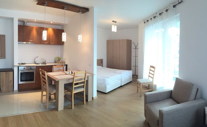 Great view from a cozy SPA studio - Bansko - Bed & Breakfast