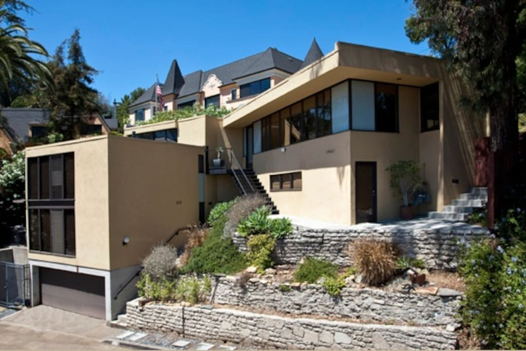 Prestigious mid century house maisons louer los - Maison car park los angeles anonymous architects ...