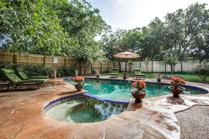 Curzon pool house - 3bed 2bath  - Fort Worth