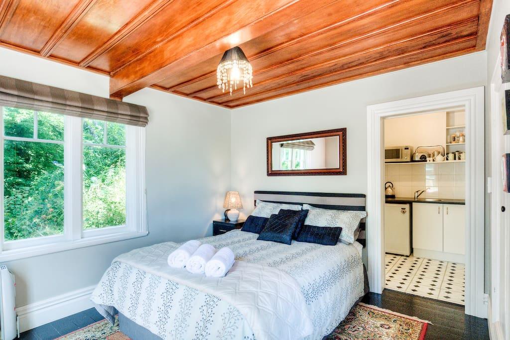 Fantail bedroom.