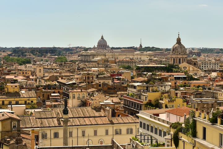 Panoramic Suite in Rome