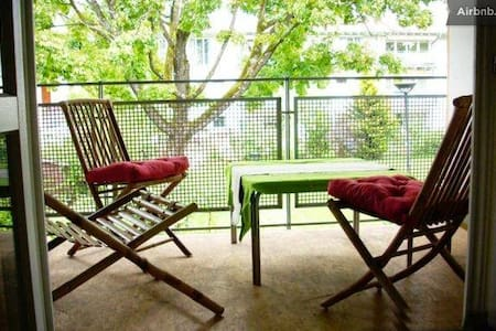 Beautiful quiet room with BALCONY - Ottobrunn