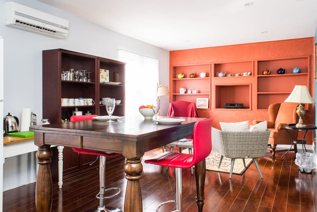 Open living space for great conversations !