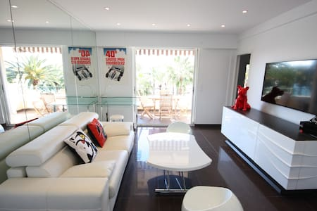 Superb, modern apartment on the Croisette with a sea view!  Magnificent ... - Cannes - Wohnung