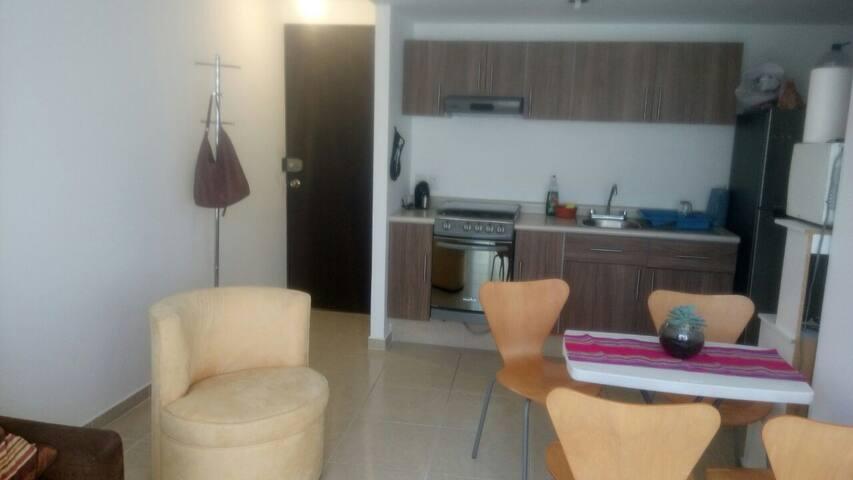 departamento cerca del aeropuerto - Ciudad de México - Apto. en complejo residencial