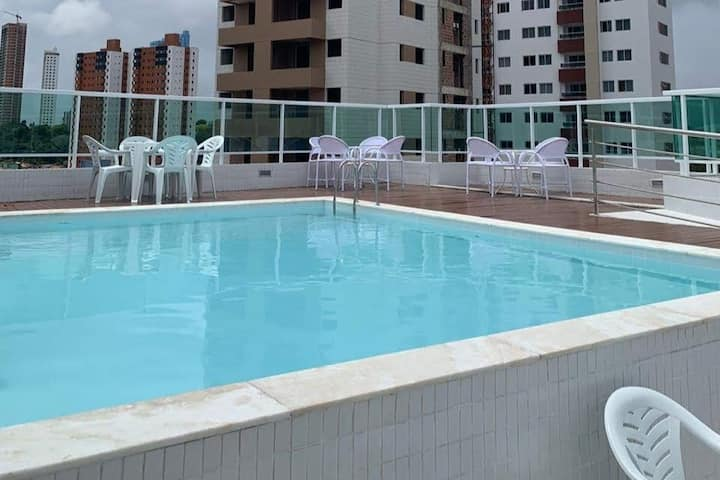 Apartamento Inteiro - Pertinho do Shopping Manaíra
