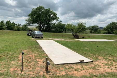 Paved RV Pad #1 at Quartz Mtn. State Park (BYO RV)