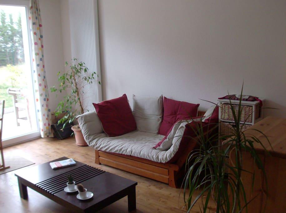 coin salon/lit futon