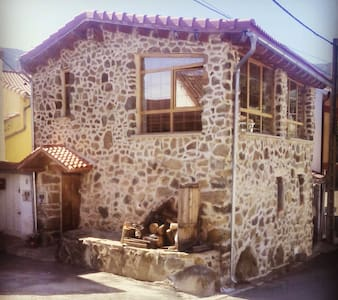 Beautiful wood&stone rustic house. - Piedrahíta - Ház