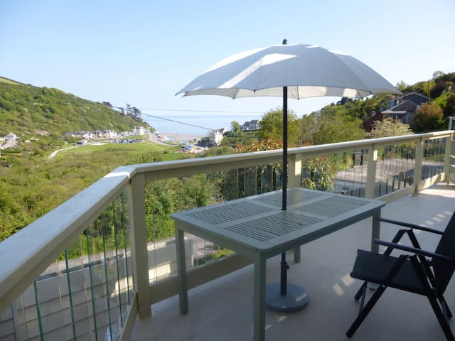 Stunning sea/country views cornwall - Seaton - Apartamento