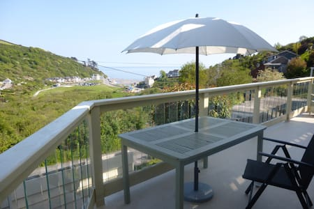 Stunning sea/country views cornwall - Seaton - Appartement