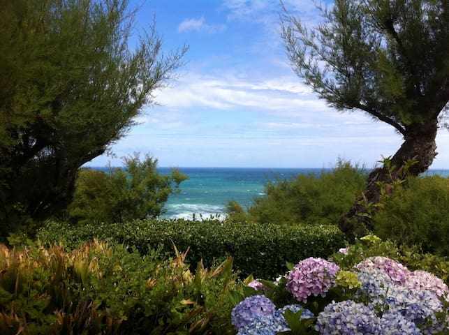 Family house with great ocean view! - แองเล็ต - บ้าน