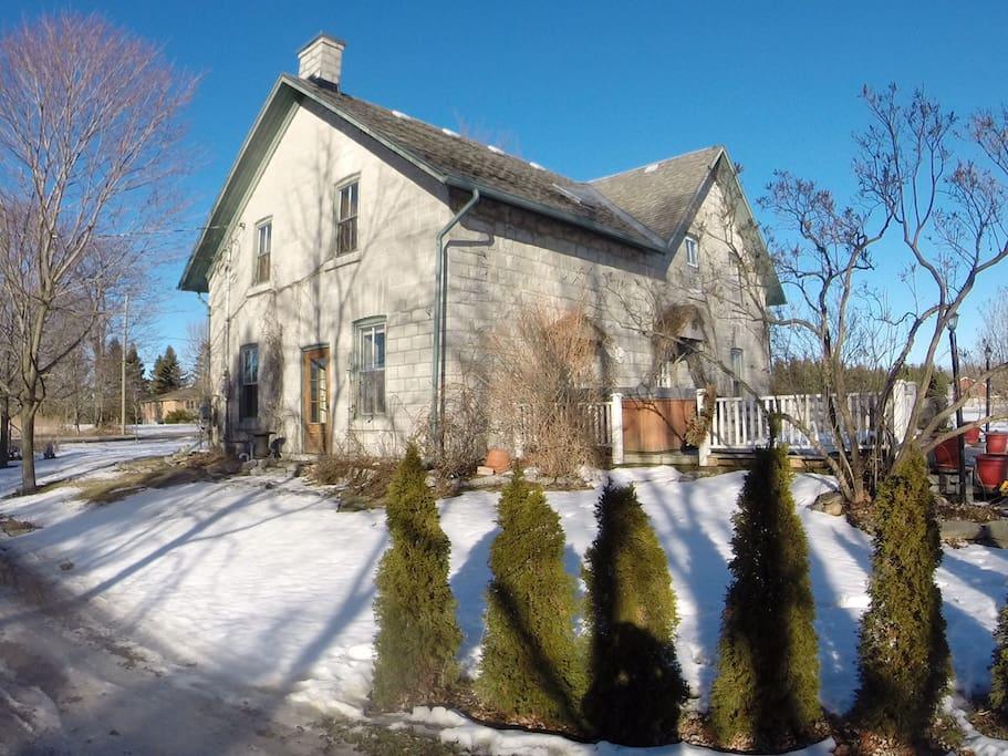 1800's Limestone home