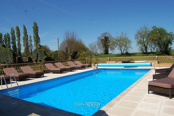 Gite Cristal avec piscine