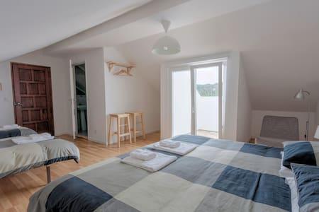 Family Room 4pax  | Balcony Sea View | PrivateBath