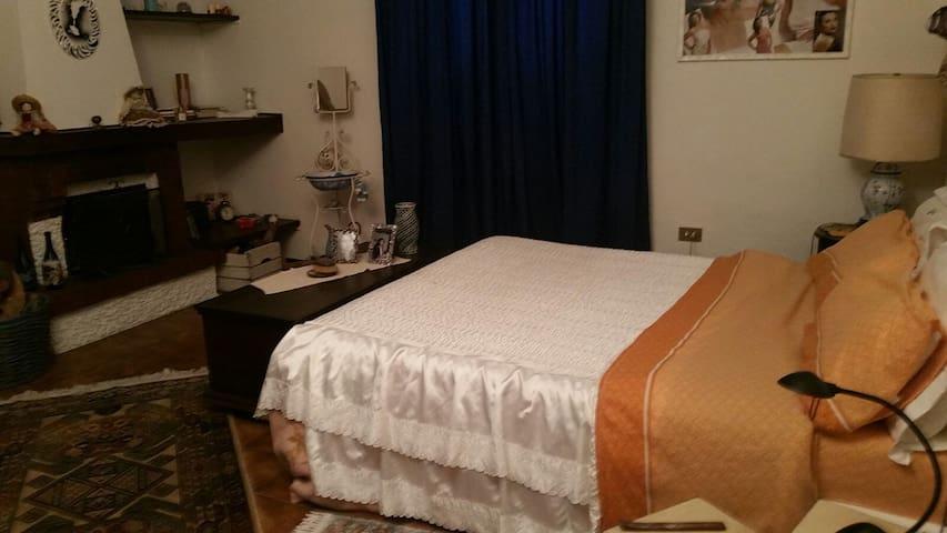 Room con camino