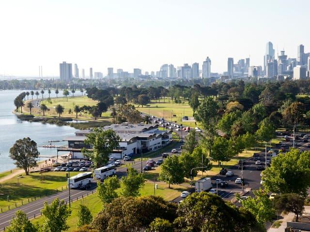 Albert Lake View Apartment - Melbourne - Lägenhet