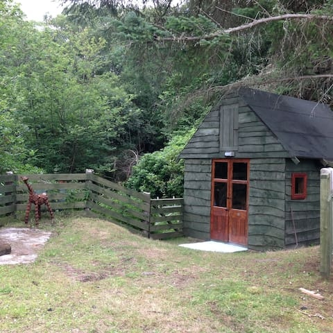 Westwood Bothy in Lochinver village.