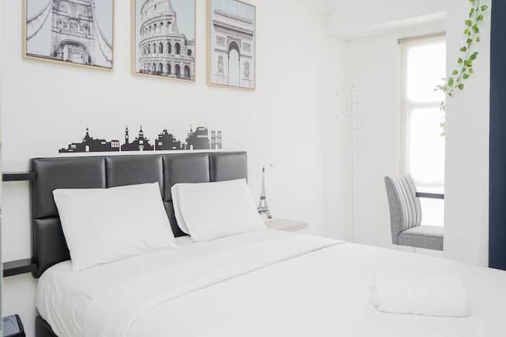 New Furnished with City View @ Studio Akasa Apt