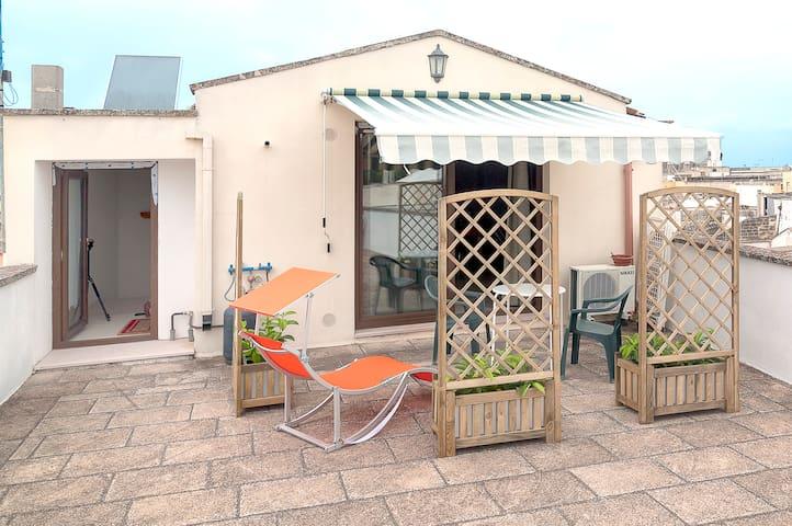 Monolocale mansardato con  terrazzo - Nardò - Apartmen