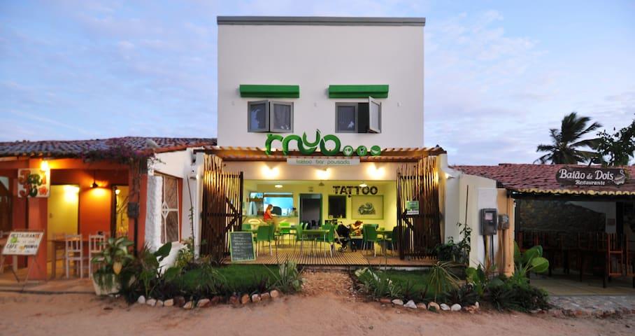 Myo Tattoo Bar Pousada - Vila de Jericoacoara - Penzion (B&B)