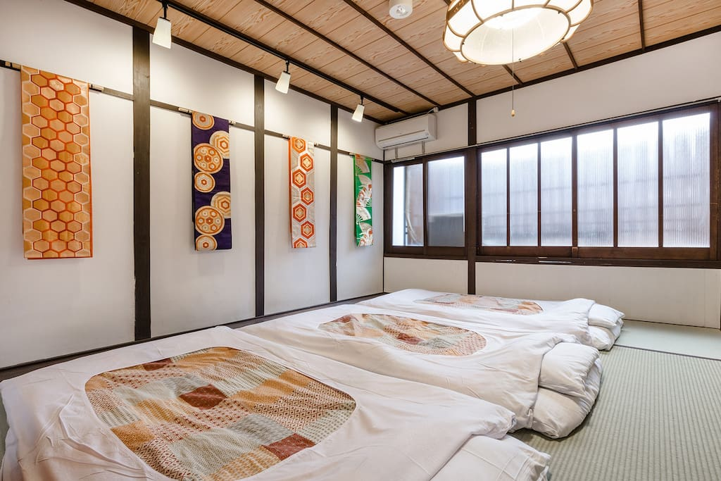 Japanese traditional house. Cozy Tatami Bed room②