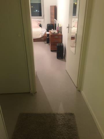 Studio meublé proche commodité lumineux et spacieu - Parijs - Appartement