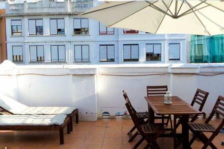 Apartamento doble con terraza +Wifi - Valencia - Apartment